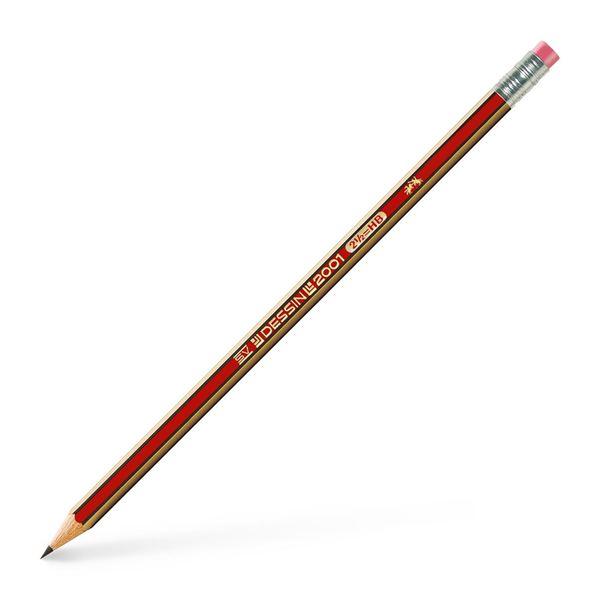 Μολύβι με γόμα 2-B EBERHARD FABER