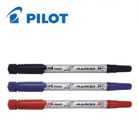 Μαρκαδoράκι διπλή μύτη Pilot Marker Pen