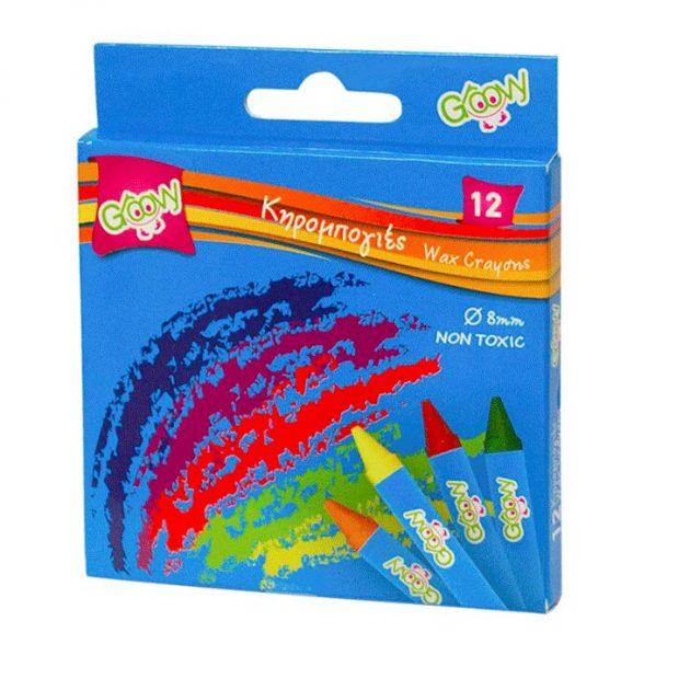 Κηρομπογιές Groovy 12 χρώματα 10 cm Ø 11 mm