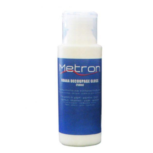 Κόλλα decoupage 250ml. Metron