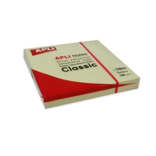 Αυτοκόλλητα Χαρτάκια APLI 75x75mm