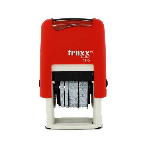 Σφραγίδα TRAXX 7810 ΗΜΕΡΟΜΗΝΙΩΝ