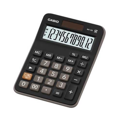 Αριθμομηχανή γραφείου CASIO MΧ-12Β